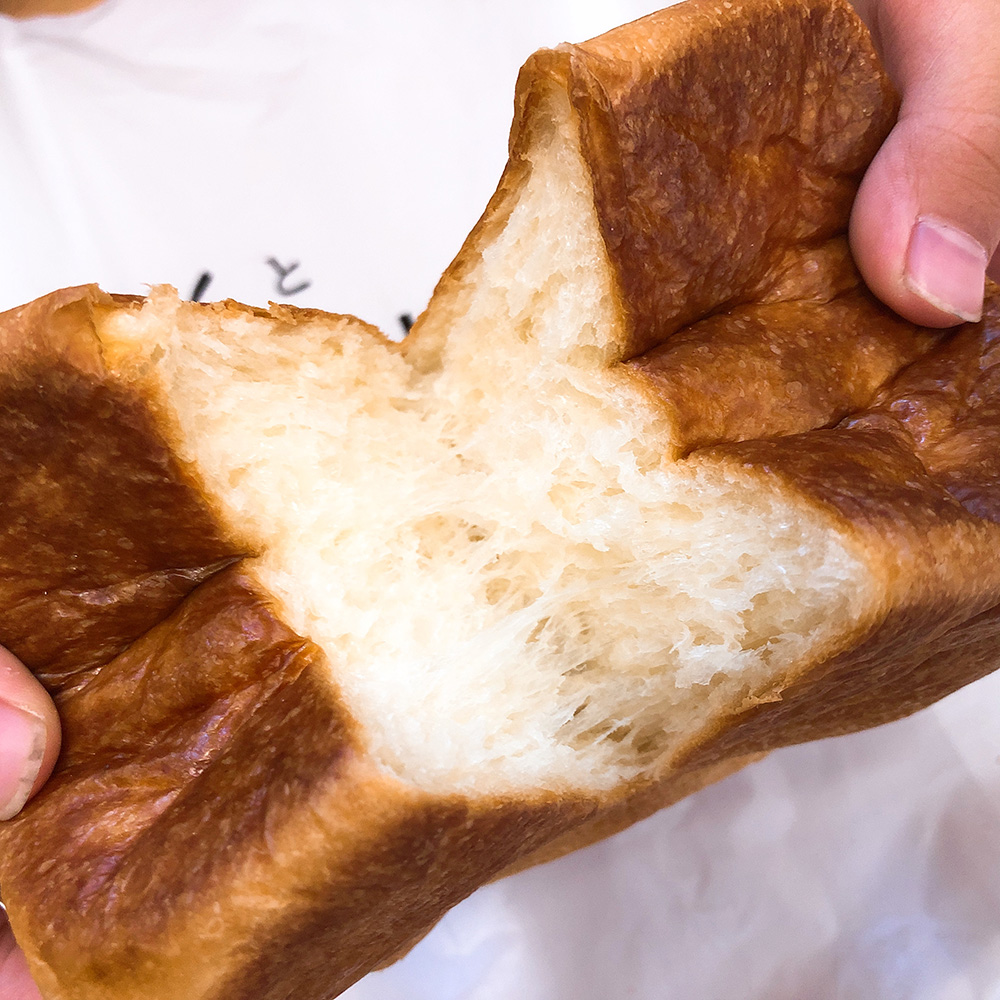 キューブ型の人気食パン「ムー」が絶品!パンとエスプレッソと南森町交差点