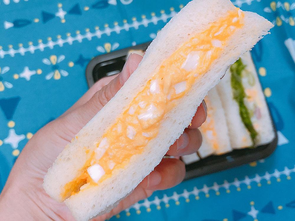 フレッシュベーカリー神戸屋・8月の新商品サンドイッチは見た目も美味しいサンドイッチ