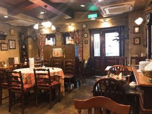 天満駅から徒歩5分・英国風カフェ西洋茶館でカフェランチ