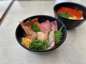 和歌山県 黒潮市場で海鮮丼